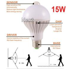 Next Bohlam LED Pir Sensor Gerak/ Motion Detect High Quality