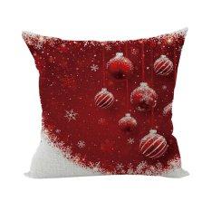 Nunubee Cotton Linen Home Square Cushion Cover Decorative Throw Pillow Case Sofa Pillow Lively - Intl