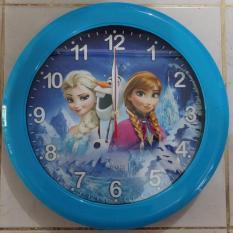Ogana Clock - Jam Dinding Gambar Cartoon frozen