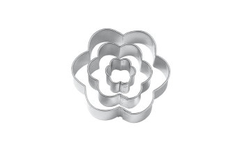 Ooplm Flower Plum Blossom Cut Outs Cookie Cutters, Set Of 3 (Intl)
