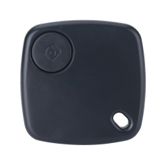 Oxoqo Mini Bluetooth Key Smart Finder Anti Lost Reminder Phone Bag Wallet Anti-lost Smart Tracker, Black
