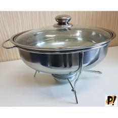 Paling Laku Prasmanan Soup Tutup Kaca +Pemanas Warmer