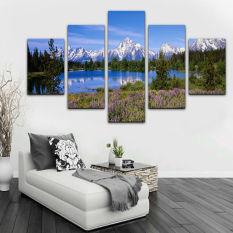 4 Buahset Modern Ide Abstrak Seni Lukisan Bunga Lukisan Cat Minyak Source · Kanvas Lukisan Alam Lukisan Kanvas Living Room Murah Dekorasi kanvas lukisan ...