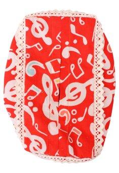 Pentatonic Music Music Batik Tissue Cover - 2 (Free Size)