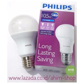 Philips LED Bulb 10.5W A60 E27 - 1055 Lumen - Cool Daylight - 1pcs (