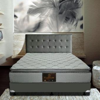 Pierre Cardin Platinum Springbed Kasur Full Set uk 180x200