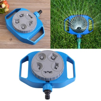 Plastic Garden Plants Flowers Watering Sprinkler 5-Function Multi-use Lawn Irrigation System - intl