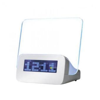 PUJASERA Digital Alarm Clock LED Memo Board