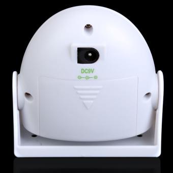 Putih Selamat Datang Di Lonceng Sensor Gerak 10 M Peringatan Bel Alarm Pintu .