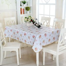 PVC Tablecloth Checkered Tablecloth Rectangular Tablecloth Waterproof Table Cloth Picnic Cloth American Pastoral Tablecloth 152cm X 228cm Tablecloth Intl