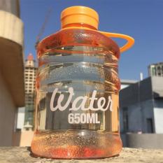 Rafa Botol Galon Mini 650ML (BPA Free) Botol Minum Bentuk Mini Botol Unik - Orange