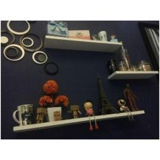 Rak dinding FLoating Shelf Termurah minimalis