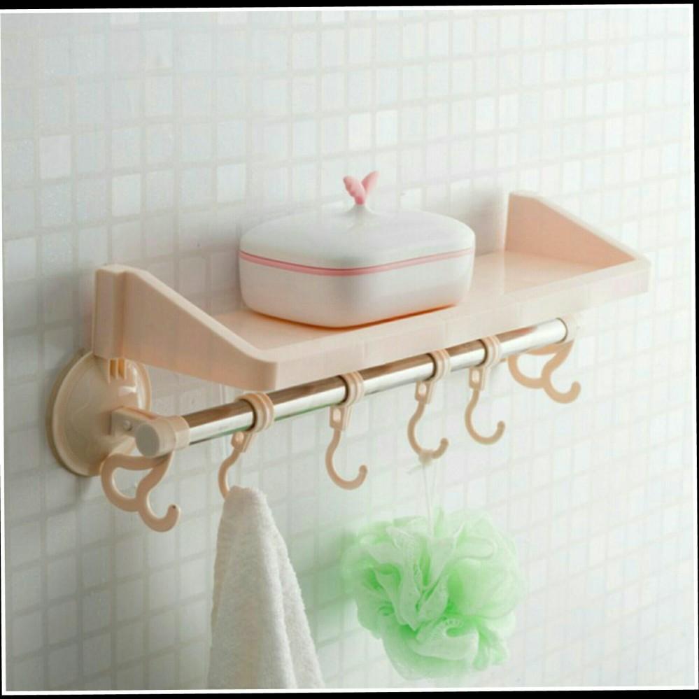 Tempat Shampoo Handuk Odol Sabun Source Shock Price Rak