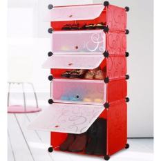 Rak Sepatu Cabinet DIY Shoe Rack Cabinet