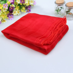 Red Table Organza Runners Fabric DIY Wedding Party Bow Decoration 5x1.4m (Intl)
