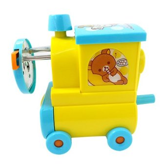 Rilakkuma Train Pencil Sharpener (Blue)