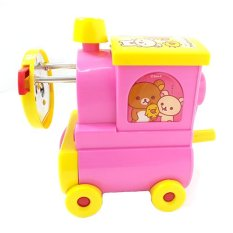 Rilakkuma Train Pencil Sharpener (Pink) (Intl)