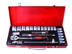 Ronaco D Tools - Kunci Socket Wrench Pas Sok Shock Sock Set 24 Pcs - Premium