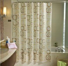 Room Decor Tirai Shower / Shower Curtain Premium - SL9007