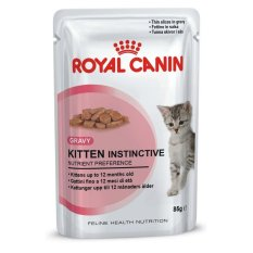 Royal Canin Kitten Instinctive Gravy 85 Gr