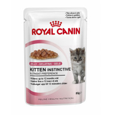 Royal Canin Kitten Instinctive Jelly 85 Gr