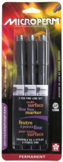 Sakura Microperm Pen Set Of 3 Microperm Set Of 3 Pens - Intl