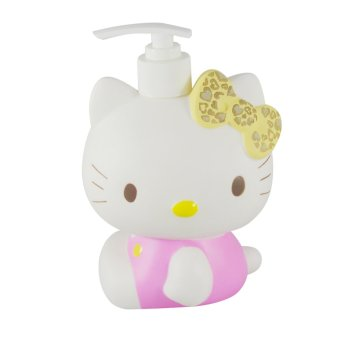 Sanrio Dispenser Sabun Cair Karakter Hello Kitty (Pink)