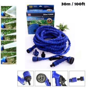 Selang Magic Hose 30 Meter / 100FT Selang Air Ajaib Original Anti Kusut