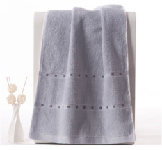 Set Of 4 100% Cotton Thickened 80*34cm Face Towel Hand Towel Soft and Water Absorption (Intl)