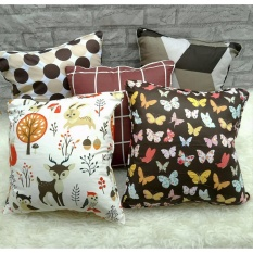 Shafiyyah.Sarban (1 SET / 5 PCS) Sarung Bantal Sofa / Kursi 40x40 cm