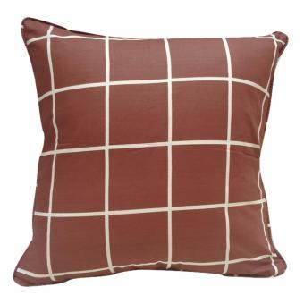 Shafiyyah.Sarban Sarung Bantal Sofa / Kursi 40x40 motif Kotak-Kotak