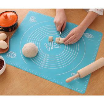Silikon membuat kue gulung tikar Pad lembar Fondant alat dapur kueaksesoris - International