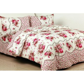 Sprei California King 180x200 -. Source · Spek Dan Harga Sprei California Rumbai Motif Pink Rose King Size Source · Sprei bahan KATUN