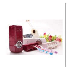 StarHome Dispenser Odol dan Tempat Sikat Gigi - Tempat Pasta Gigi