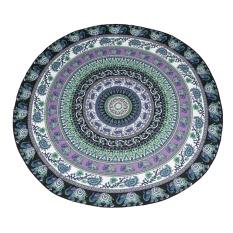 Stazub Mandala Round Roundie Beach Throw Tapestry Hippy Boho Gypsy Chiffon Tablecloth Beach Towel