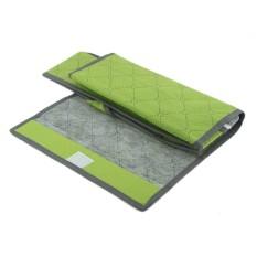 Storage Box Case Underwear 9 Cell Bras Panty Drawer Tie Storage Box Case L Green (Intl)