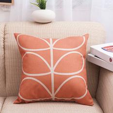"Stripe Pattern Cotton Throw PillowCase Decor Cushion Covers 18""x45cm Wave (Intl)"