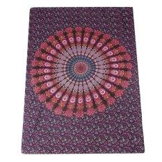 Summer Rectangle Mandala Beach Hippie Yoga Mat Towel Bohemian Tapestry Shawl