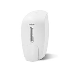 SVAVO Hotel Washroom Manual Soap Dispenser PL-151051 (White) 800ml - Intl