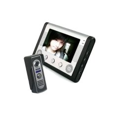SY801M Video Door Phone Intercom with Outdoor Camera and 7 Inch TFT LCD Monitor