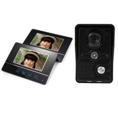 SY811MKB12 Wireless 7 Inch TFT Color LCD Screen Night Vision Video Door Phone Intercom Doorbell