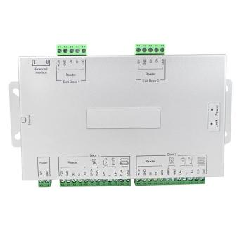 TCP / IP Network Access Control System Controller For 2 Doors / Access Control Board 20000 Users