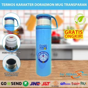 Termos Air Karakter Doraemon Animal Stainless Steel Tahan Panas 500ml Murah