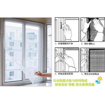 Harga Jala Serangga Terbang Nyamuk Pintu Tirai Pelindung Layar Source Tirai Jendela Magnet .