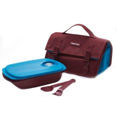 Tupperware BYO (Bring Your Own) Lunch Set - Coklat