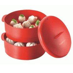 Tupperware Steam It - Merah