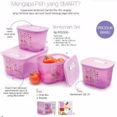 Tupperware Ventsmart Set - 3pcs - Ungu
