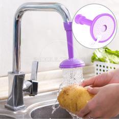 Ultimate Sambungan Kran Air Flexsibel Dapur Kamar Mandi / Faucet Extender / Keran Hemat Air Fleksibel KA-03 - Purple