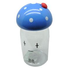 Universal Botol Minum Jamur Emotion Unbreakable Bottle 350ml - SM-8390 - Blue