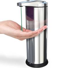 Universal Stainless Steel Sensor Automatic Soap Dispenser / Sabun Otomatis - Silver